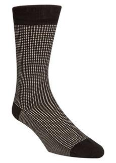Cole Haan Check Dress Socks