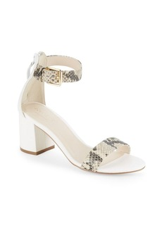 Cole Haan Clarette Python-Embossed Sandals