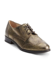 Cole Haan Cracked Leather Wingtip Oxford Shoes