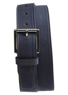 Cole Haan Cut Edge Leather Belt