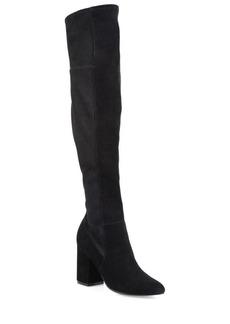 Cole Haan Darla Over-The-Knee Suede Block Heel Boots