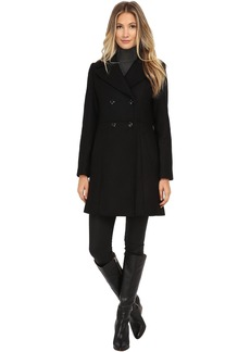 Cole Haan Double Breasted Coat with Knotch Collar