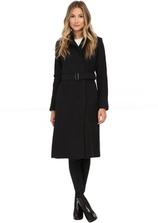 Cole Haan Double Breasted Maxi Coat