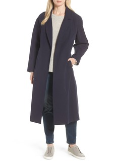 Cole Haan Double Face Wrap Maxi Jacket