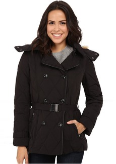 Cole Haan Down Peacoat with Removable Hood
