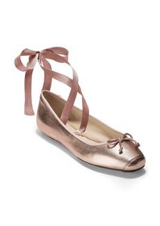 Cole Haan Downtown Ankle Wrap Ballet Flat (Women)