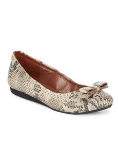 Cole Haan Elsie Ballet II Leather Flats