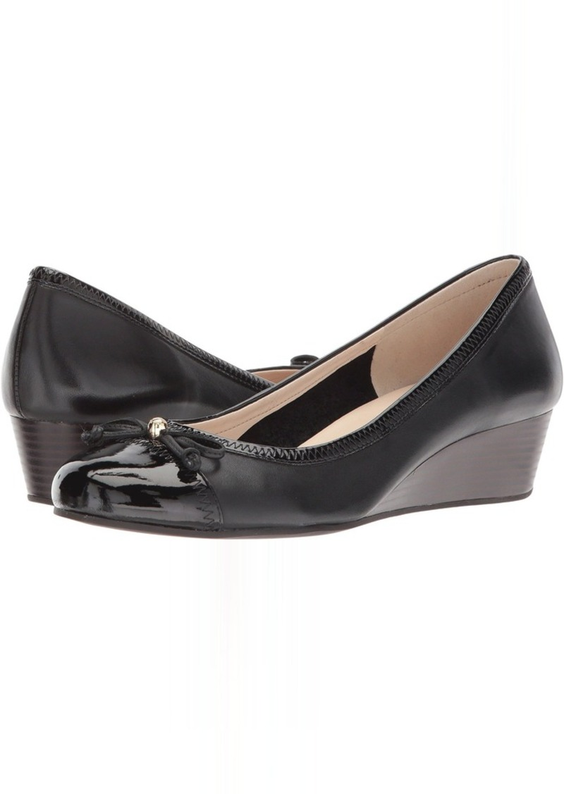 Cole Haan Elsie Cap Toe Lace Wedge 40mm II