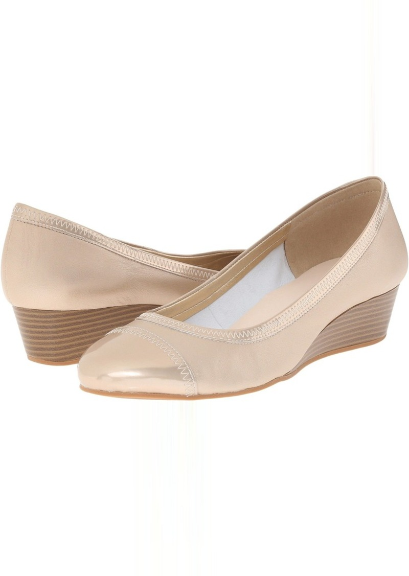 Cole Haan Elsie Cap Toe Wedge II