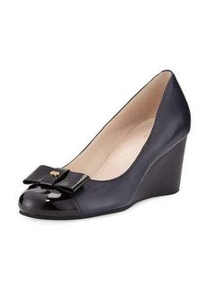 Cole Haan Elsie Leather Wedge Pump