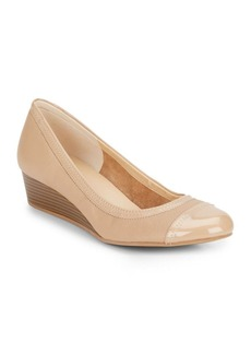 Cole Haan Elsie Leather Wedge Shoes