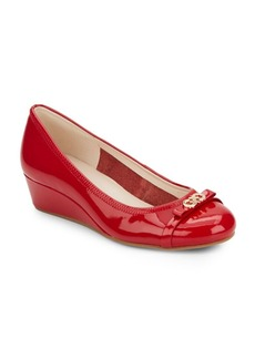 Cole Haan Elsie Patent Leather Wedges