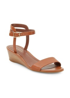 Cole Haan Elsie Wedge-Heel Slide Sandals