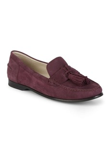 Cole Haan Emmons Tasseled Suede Loafers