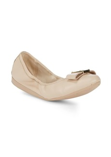 Cole Haan Emory Bow Leather Ballet Flats