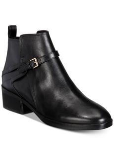 Cole Haan Etta Block-Heel Ankle Booties