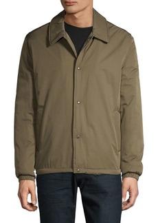 Cole Haan Faux Fur-Lined Coach Jacket