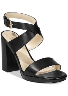 Cole Haan Fenley Strappy Block-Heel Sandals Women's Shoes