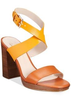 Cole Haan Fenley Strappy Block-Heel Sandals Women's Shoes