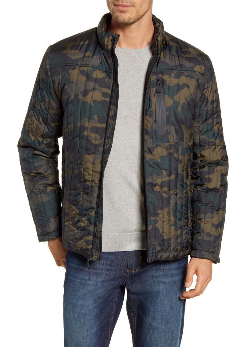 Cole Haan Fleece Lined Quilted Jacket