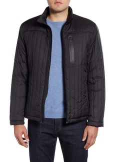 Cole Haan Fleece Lined Quilted Jacket