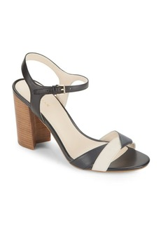Cole Haan Florena Colorblock Leather Sandals
