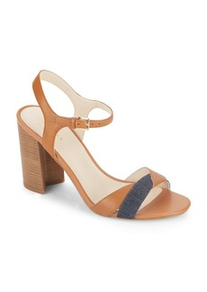 Cole Haan Florena Leather Colorblock Sandals