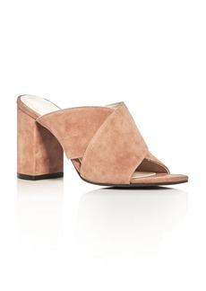 Cole Haan Gabby Crisscross Block Heel Slide Sandals