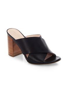 Cole Haan Gabby Leather Block Heel Sandals