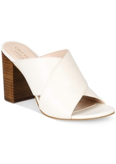 Cole Haan Gabby Peep-Toe Mules Women's Shoes