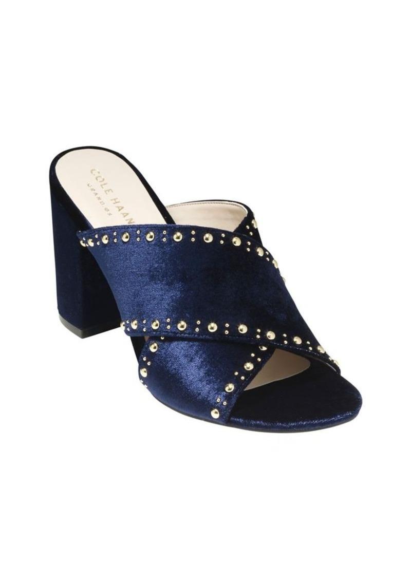 39fc882b7eb Cole Haan Cole Haan Gabby Studded Velvet Sandals
