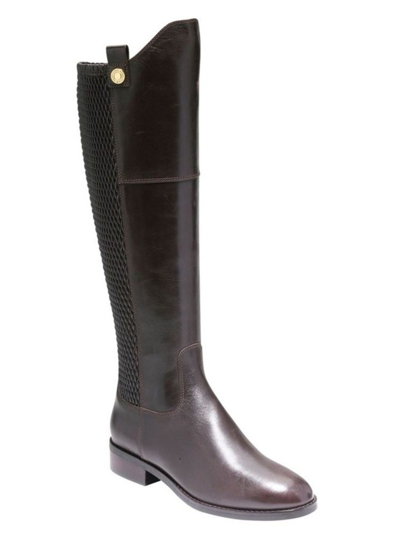 203e0bf3ae3 Cole Haan Cole Haan Galina Leather Knee High Boots