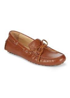 Garnet II Leather Driver Loafers