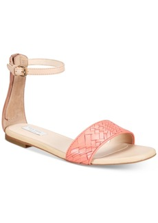Cole Haan Genevieve Weave Flat Sandals Women's Shoes