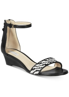 Cole Haan Genevieve Weave Wedge Sandals Women's Shoes