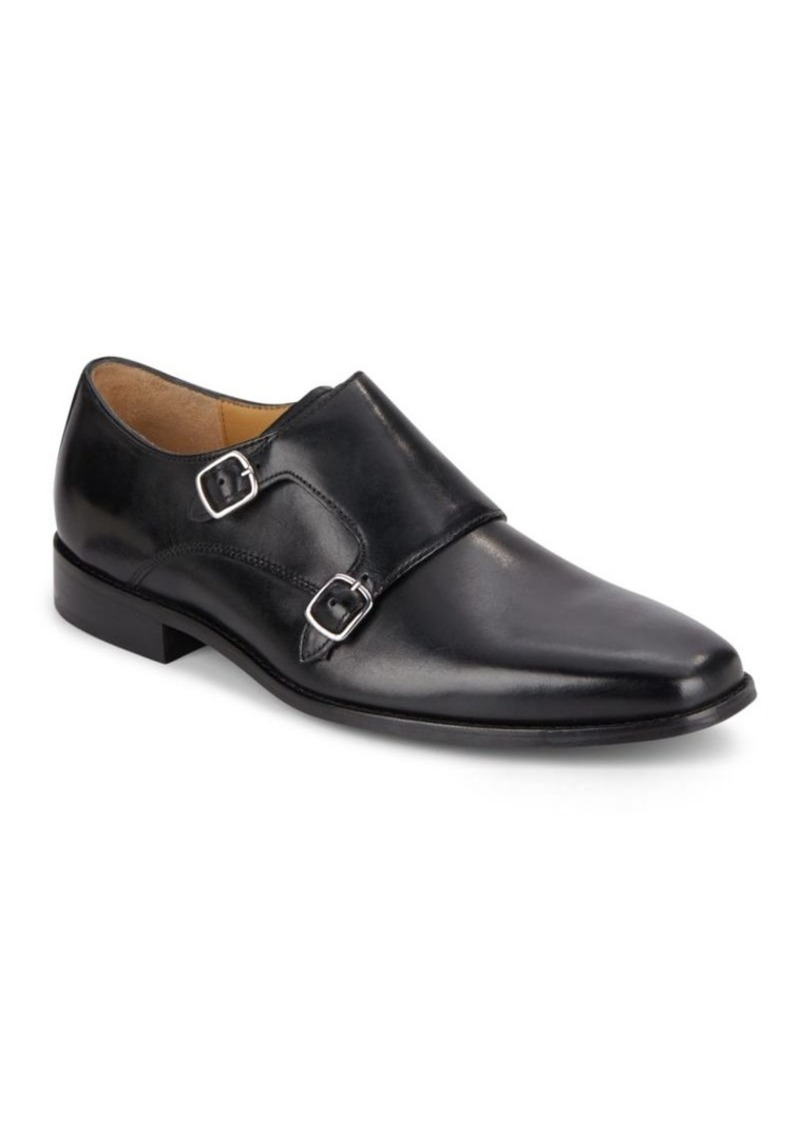1a20e60d7520f Cole Haan Giraldo Double Monk-Strap Leather Dress Shoes