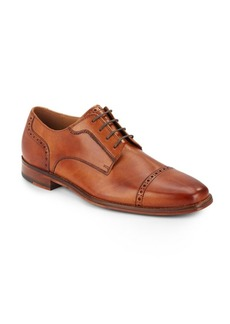 Cole Haan Giraldo Leather Wingtip Oxfords