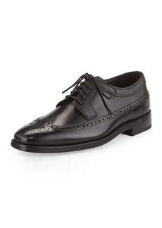 Cole Haan Giraldo Luxe Wing-Tip Leather Oxford