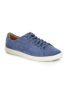 Cole Haan Grand Crosscourt Lace-Up Suede Sneakers