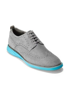 Cole Haan Grand Evolution Short Wing Suede Oxfords