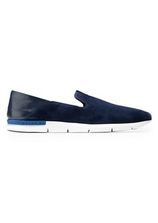Cole Haan Grand Horizon Suede Loafers
