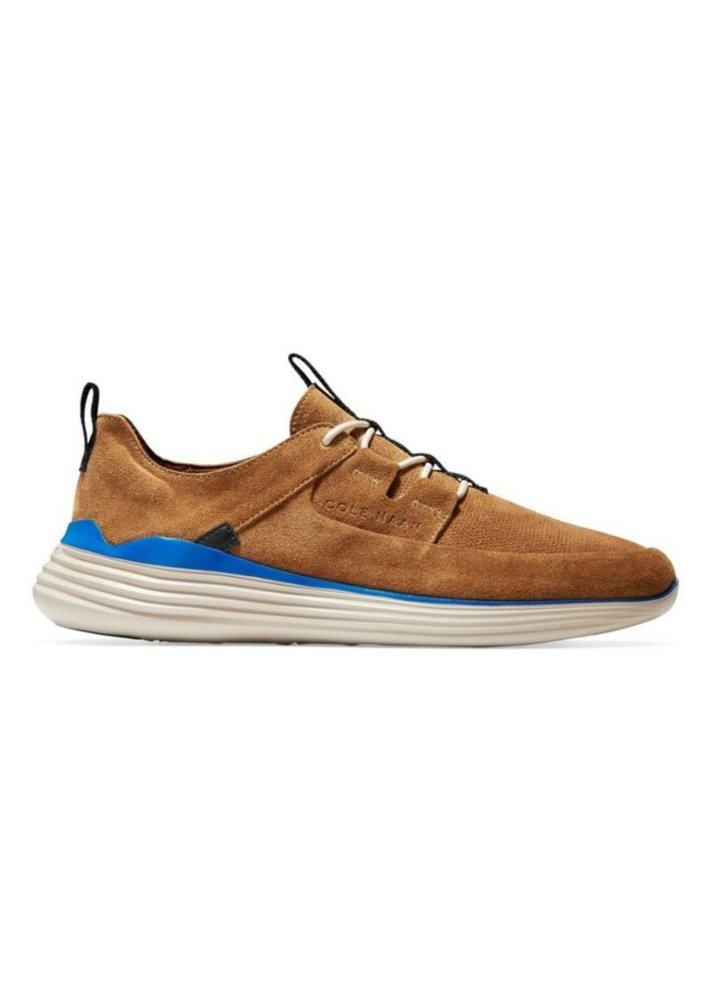 Cole Haan Grand Sport Apron Suede Sneakers
