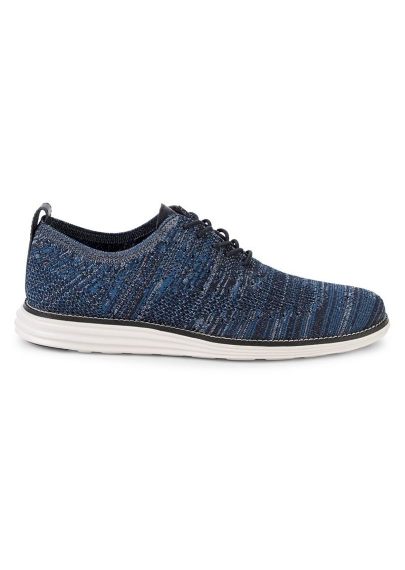 Cole Haan Grand Stitchlite Wing-Tip Oxfords