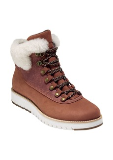 Cole Haan GrandExpløre Genuine Shearling Trim Waterproof Hiker Boot (Women)