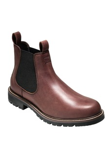 COLE HAAN Grantland Waterproof Leather Chelsea Boots