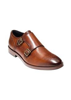 Cole Haan Hamilton Grand Double Monk Leather Oxfords