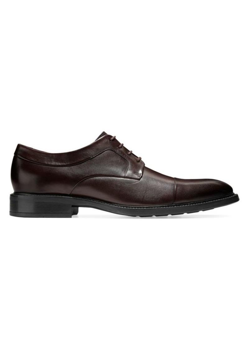 Cole Haan Hartsfield Cap-Toe Leather Oxfords