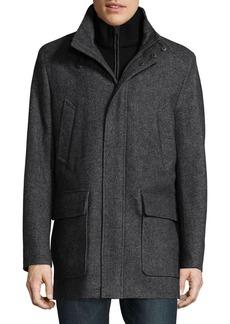 Cole Haan Heathered Coat