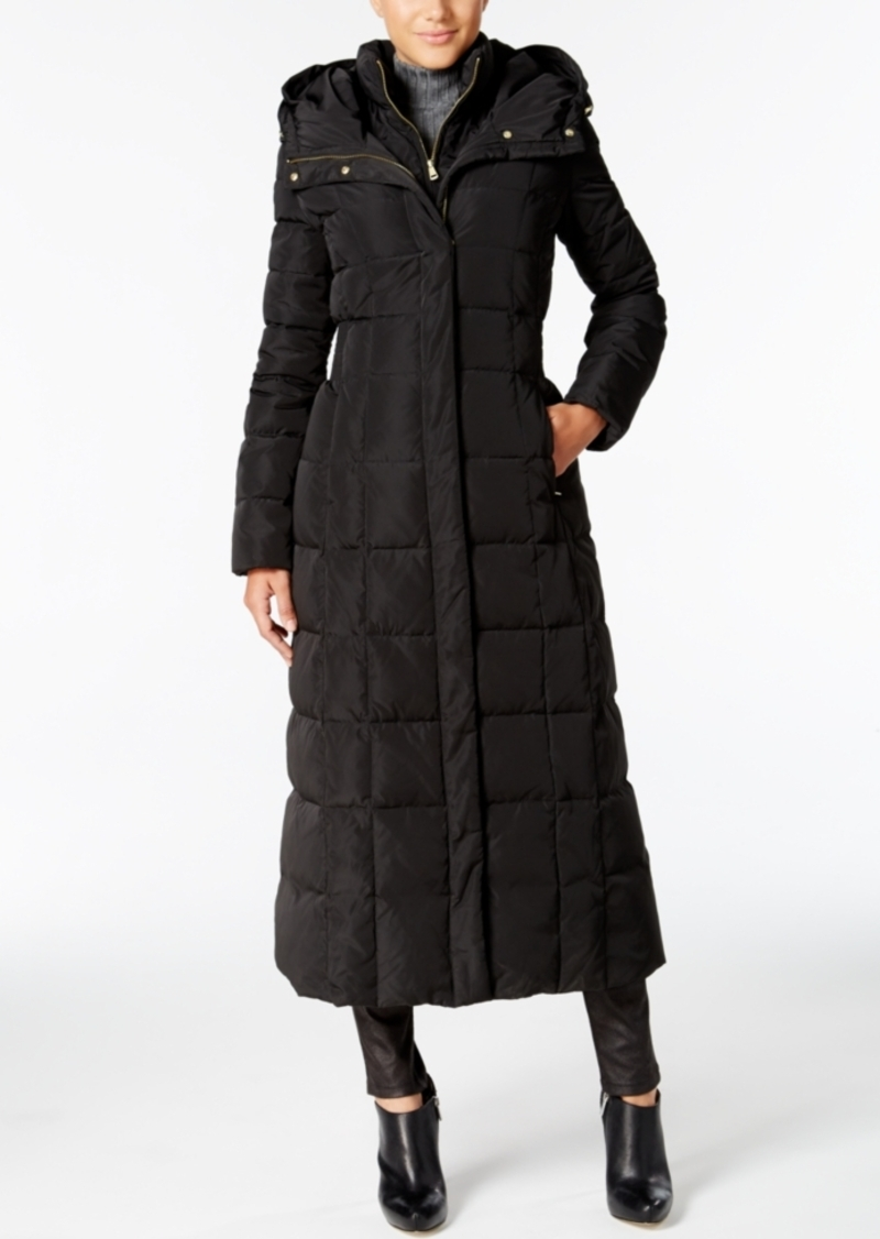 Cole Haan Cole Haan Signature Petite Layered Maxi Puffer