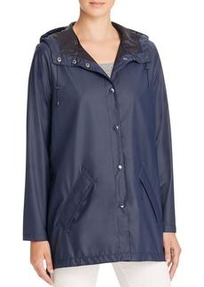 Cole Haan Hooded Rain Coat